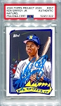 Ken Griffey Jr. Autographed Topps Project 2020 Card #257 Inscribed 24 - Blue 1/1