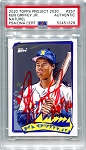 Ken Griffey Jr. Autographed Topps Project 2020 Card #257 Inscribed HOF 16 - Red 1/1