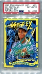 Ken Griffey Jr. Autographed Topps Project 2020 Card #231 Inscribed 10x GG - Green 1/1