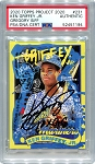 Ken Griffey Jr. Autographed Topps Project 2020 Card #231 Inscribed 10x GG - Black 1/1