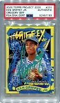 Ken Griffey Jr. Autographed Topps Project 2020 Card #231 Inscribed 24 - Green 1/1