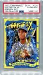 Ken Griffey Jr. Autographed Topps Project 2020 Card #231 Inscribed 24 - Gold 1/1