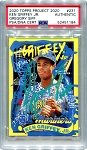 Ken Griffey Jr. Autographed Topps Project 2020 Card #231 Inscribed HOF 16 - Green 1/1