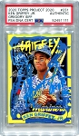 Ken Griffey Jr. Autographed Topps Project 2020 Card #231 Inscribed HOF 16 - Blue 1/1