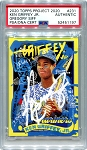 Ken Griffey Jr. Autographed Topps Project 2020 Card #231 - White 1/1