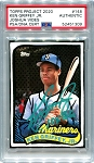 Ken Griffey Jr. Autographed Topps Project 2020 Card #148 Inscribed 10x GG - Green 1/1