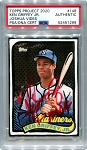Ken Griffey Jr. Autographed Topps Project 2020 Card #148 Inscribed 10x GG - Red 1/1
