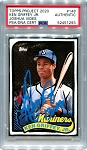 Ken Griffey Jr. Autographed Topps Project 2020 Card #148 Inscribed 13x AS - Blue 1/1