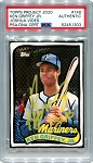 Ken Griffey Jr. Autographed Topps Project 2020 Card #148 Inscribed 13x AS - Yellow 1/1