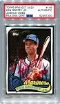 Ken Griffey Jr. Autographed Topps Project 2020 Card #148 Inscribed 13x AS - Red 1/1