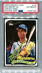 Ken Griffey Jr. Autographed Topps Project 2020 Card #148 Inscribed 24 - Yellow 1/1