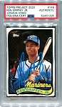 Ken Griffey Jr. Autographed Topps Project 2020 Card #148 Inscribed HOF 16 - Blue 1/1