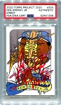Ken Griffey Jr. Autographed Topps Project 2020 Card #300 Inscribed 10x GG - Red 1/1