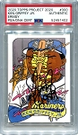 Ken Griffey Jr. Autographed Topps Project 2020 Card #300 Inscribed 1989 - Black 1/1