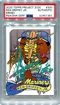 Ken Griffey Jr. Autographed Topps Project 2020 Card #300 Inscribed HOF 16 - Green 1/1