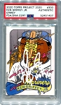 Ken Griffey Jr. Autographed Topps Project 2020 Card #300 Inscribed HOF 16 - White 1/1