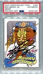 Ken Griffey Jr. Autographed Topps Project 2020 Card #300 - Black 1/1