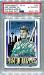 Ken Griffey Jr. Autographed Topps Project 2020 Card #177 Inscribed 10x GG - Green 1/1