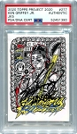 Ken Griffey Jr. Autographed Topps Project 2020 Card #277 Inscribed 10x GG - Black 1/1