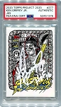Ken Griffey Jr. Autographed Topps Project 2020 Card #277 Inscribed HOF 16 - White 1/1