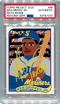 Ken Griffey Jr. Autographed Topps Project 2020 Card #88 Inscribed 10x GG - Yellow 1/1