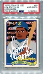 Ken Griffey Jr. Autographed Topps Project 2020 Card #88 Inscribed 10x GG - White 1/1