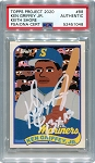 Ken Griffey Jr. Autographed Topps Project 2020 Card #88 Inscribed 13x AS - White 1/1