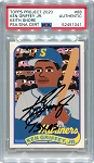 Ken Griffey Jr. Autographed Topps Project 2020 Card #88 Inscribed 13x AS - Black 1/1