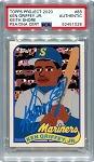 Ken Griffey Jr. Autographed Topps Project 2020 Card #88 Inscribed 24 - Blue 1/1