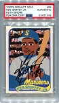 Ken Griffey Jr. Autographed Topps Project 2020 Card #88 Inscribed 1989 - Black 1/1