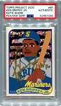 Ken Griffey Jr. Autographed Topps Project 2020 Card #88 Inscribed HOF 16 - Gold 1/1