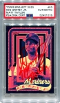 Ken Griffey Jr. Autographed Topps Project 2020 Card #53 Inscribed 10x GG - Red 1/1