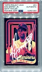 Ken Griffey Jr. Autographed Topps Project 2020 Card #53 Inscribed 24 - White 1/1