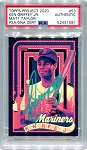 Ken Griffey Jr. Autographed Topps Project 2020 Card #53 Inscribed 24 - Green 1/1