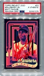 Ken Griffey Jr. Autographed Topps Project 2020 Card #53 Inscribed HOF 16 - Red 1/1
