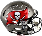 Tom Brady Autographed Tampa Bay Buccaneers Speed Flex Full Size Helmet