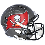 Tom Brady Autographed Tampa Bay Buccaneers Authentic Speed Full Size Helmet