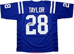 Jonathan Taylor Autographed Indianapolis Colts Custom Jersey