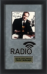Rush Limbaugh Autographed 8x10 Photo Framed