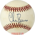 Chris Berman Autographed Official National League Baseball
