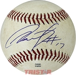 Victor Caratini Autographed Official MiLB Southern League Baseball Inscribed 17
