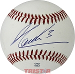 Helio Castroneves Autographed Official MiLB Southern League Baseball Inscribed 3