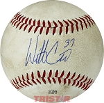 Wil Crowe Autographed Official MiLB Southern League Baseball Inscribed 37
