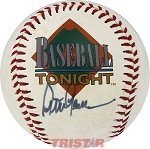 Peter Gammons Autographed Official ESPN CLUB Walt Disney World Baseball
