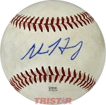 Adam Haseley Autographed Official Minor League Practice Baseball