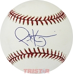 Scott Kazmir Autographed Official Major League Baseball