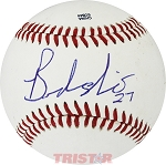 Brandon Nimmo Autographed Official MiLB Southern League Baseball Inscribed 27