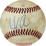 Bailey Ober Autographed Official MiLB Southern League Baseball