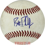 Brett Phillips Autographed Official MiLB Southern League Baseball