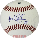 Jose Quintana Autographed Official MiLB Southern League Baseball